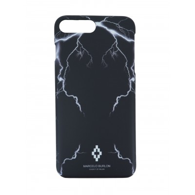 COVER PER IPHONE 8+ 7+ 6+ 6S+ | NERO BIANCO | MARCELO BURLON | M7P-TELGO