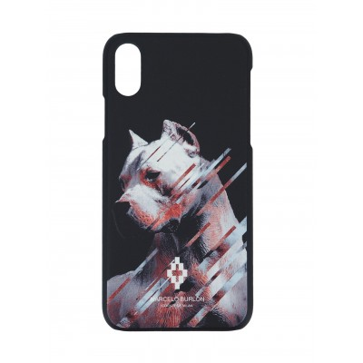 COVER PER IPHONE X | NERO BIANCO | MARCELO BURLON | MX-DOG
