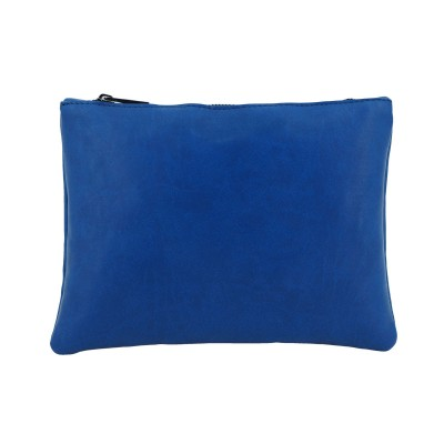 POCHETTE IN ECOPELLE | BLU | DEVID LABEL | DL_PC5_BL