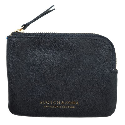 PORTAMONETE IN PELLE | NERO | SCOTCH & SODA | 142861