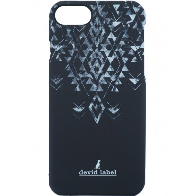 GEOMETRIC IPHONE CASE | NERO | DEVID LABEL | CVGEBK