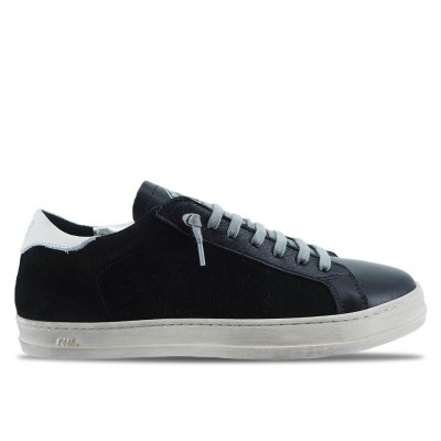 SNEAKER DA UOMO JOHN BLACK BRUSH | P448 | NERO