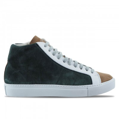 P448 | SNEAKER DA UOMO STAR2.0 - MADE IN ITALY VERDE | P448_A8STAR2.O_WILLOW
