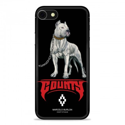 MARCELO BURLON | COVER PER IPHONE 8 7 6 6S NERO | MBU_M8-DOGOFW118PM