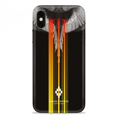 MARCELO BURLON | COVER PER IPHONE X NERO | MBU_MX-WINGSBM