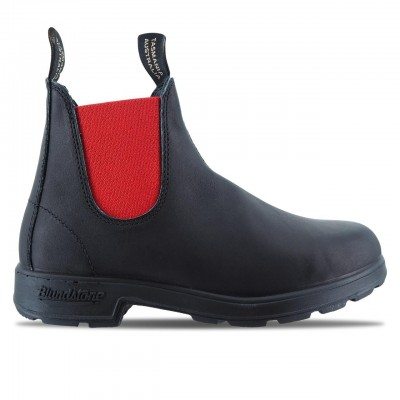 STIVALETTO IN PELLE EL BOOT BLACK RED | BLUNDSTONE | NERO | BCCAL0020