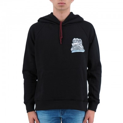 TPATCH | MEN'S SWEATSHIRT BACK TO THE FUTURE BLACK | TPA_FEDLN01