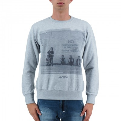 KO SAMUI | NO SCATE MEN'S SWEATSHIRT GREY | KSU_JM489NOSCATE_GRY
