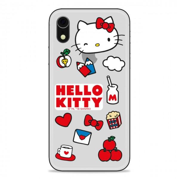 HELLO KITTY | TRANSPARENTE IPHONE XR ABDECKUNG | HLK_HKXR-OBJ