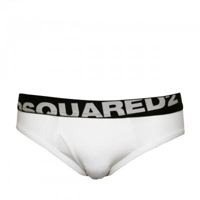 Dsquared2 | Slip Con Logo Bianco | DSQ_DCL670030-110