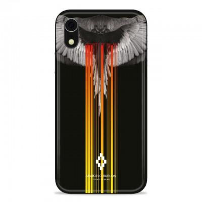 Marcelo Burlon   Wings Cover iPhone Xr Nero   MBU_MXR-WINGSBM