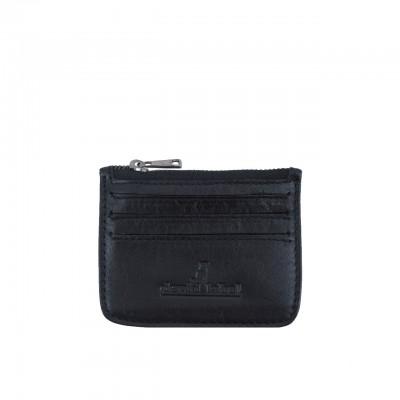 Devid Label | Unisex Leather Card Holder | DL_PT6_NERO
