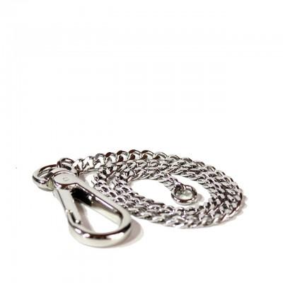 Kjore Project | iClutch Chain Pants Silver | KPJ_ICLUTCHCHAIN_ARGENTO