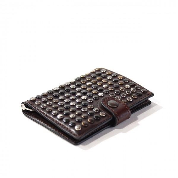 Kjore Project | Limited Studs iClutch + Coins MARRONE | KPJ_ICLUTCHSTUDSCOINS_MARRONE