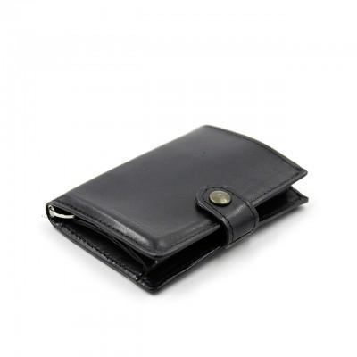 Kjore Project | Calf Leather iClutch + Coins NERO | KPJ_ICLUTCHCALFCOINS_NERO