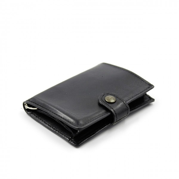 Kjore Project | Calf Leather iClutch + Coins NERO | KPJ_ICLUTCHCALFCOINS_NERO