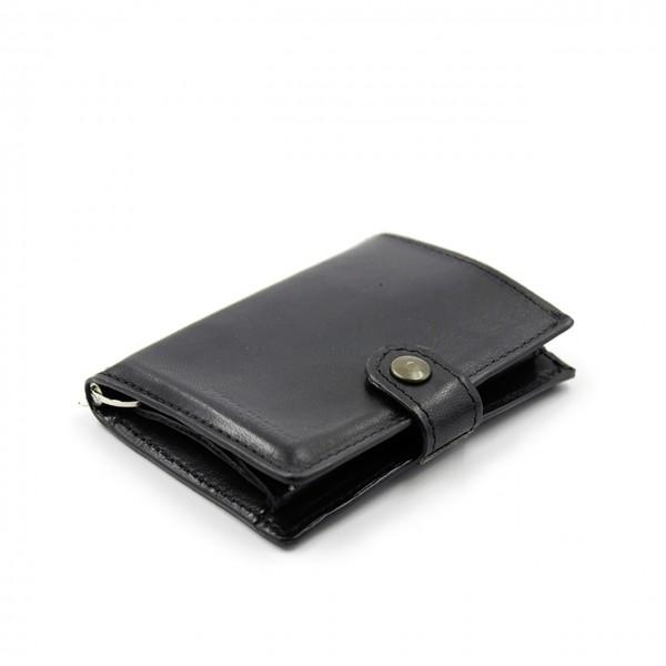 Kjore Project   Calf Leather iClutch + Coins NERO   KPJ_ICLUTCHCALFCOINS_NERO