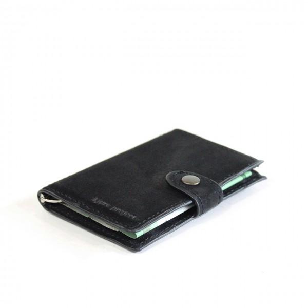 Kjore Project | Dark Black iClutch + Coins NERO | KPJ_ICLUTCHCOINS_NERO