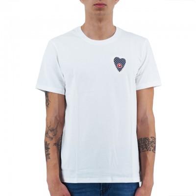 Daniele Alessandrini   T-Shirt Il Cuore E La Bocca Bianco   DAL_M6881E6433902_2