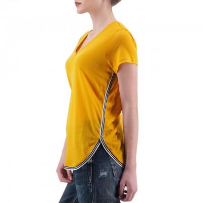 Scotch & Soda | T-Shirt Sportiva Giallo | S&S_150279_649