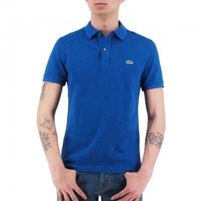 Lacoste | Polo Slim Fit Blu | LAC_PH4012 00_X0U