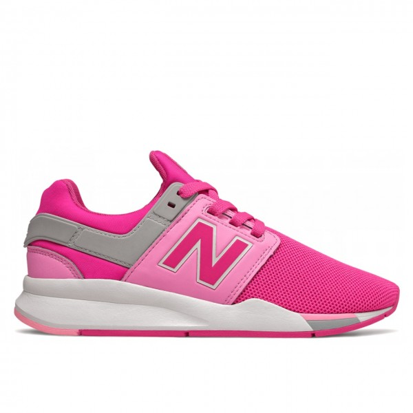 New Balance | 254 Pink Synthetic Mesh Pink | NBGS247FE