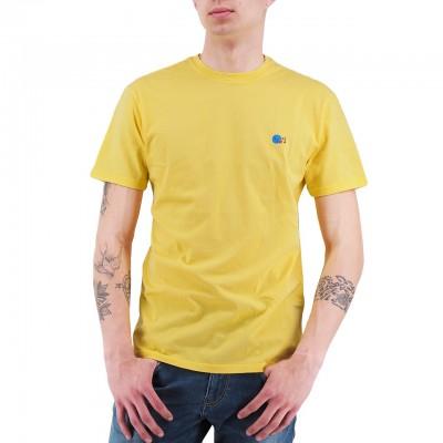 Daniele Alessandrini   T-Shirt Il Cuore E La Bocca Giallo   DAL_M6935E6433902_28