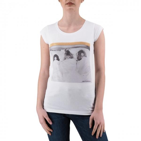 Ko Samui | Shine T-Shirt Bianco | KSU_TA 819 BED_WHT