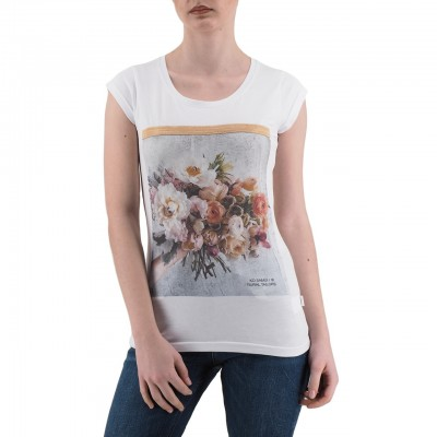 Ko Samui | Shine T-Shirt Bianco | KSU_TA 815 BUNCH_WHT