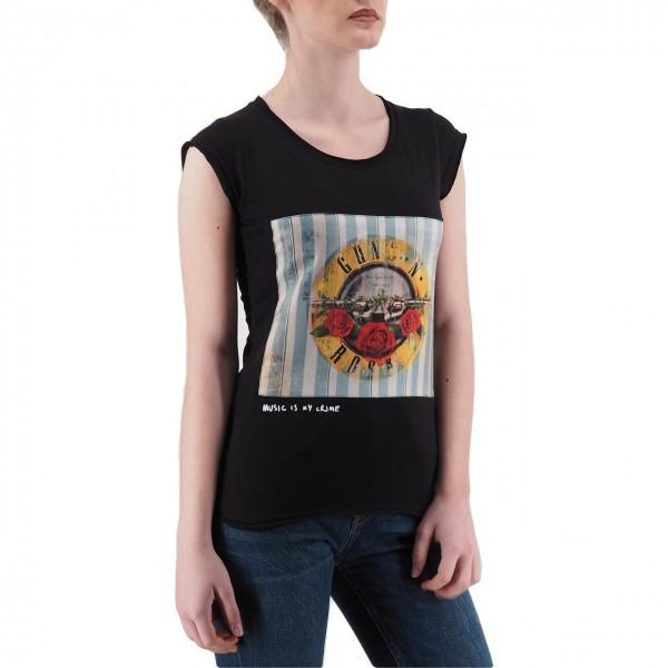 Ko Samui | Music T-Shirt Nero | KSU_TB 806 SWEET CHILD_BLK