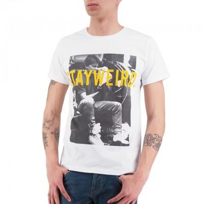 Ko Samui   B/W T-Shirt Bianco   KSU_TT 893 MARTIN_WHT