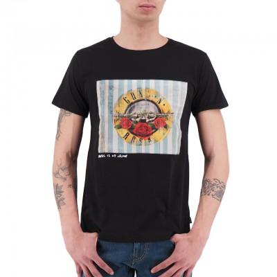 Ko Samui   Guns'N'Roses Sweet Child Music T-Shirt Nero   KSU_TT 806 SWEET CHILD_BLK