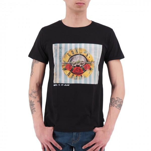Ko Samui | Guns'N'Roses Sweet Child Music T-Shirt Nero | KSU_TT 806 SWEET CHILD_BLK