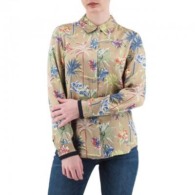 Scotch & Soda | Regular Drapey Fit Shirt Oro | S&S_149772_17