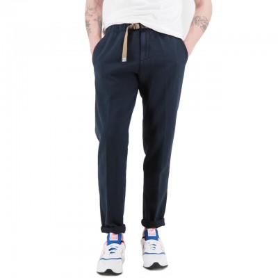 White Sand   Pantalone Lungo Blu   WS_19SU66 09_037