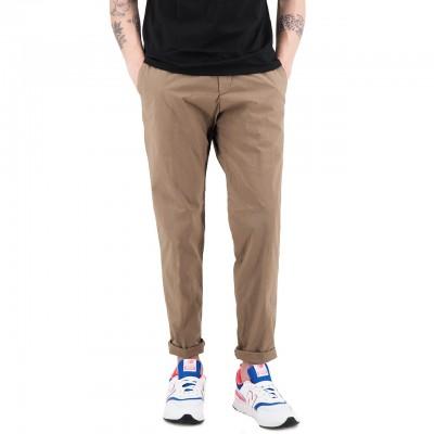 White Sand   Pantalone Lungo Marrone   WS_19SU66 17_46