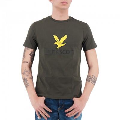 Lyle & Scott | Logo T-Shirt Green | LS_TS1020V_028