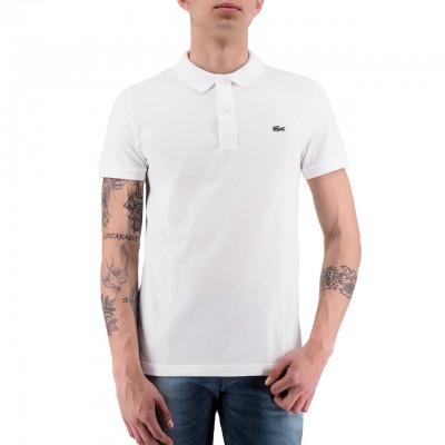Lacoste | Polo Slim Fit Bianco | LAC_PH4012 00_001