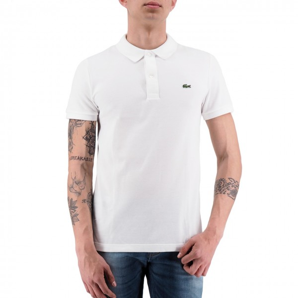 Lacoste | Polo Slim Fit White | LAC_PH4012 00_001