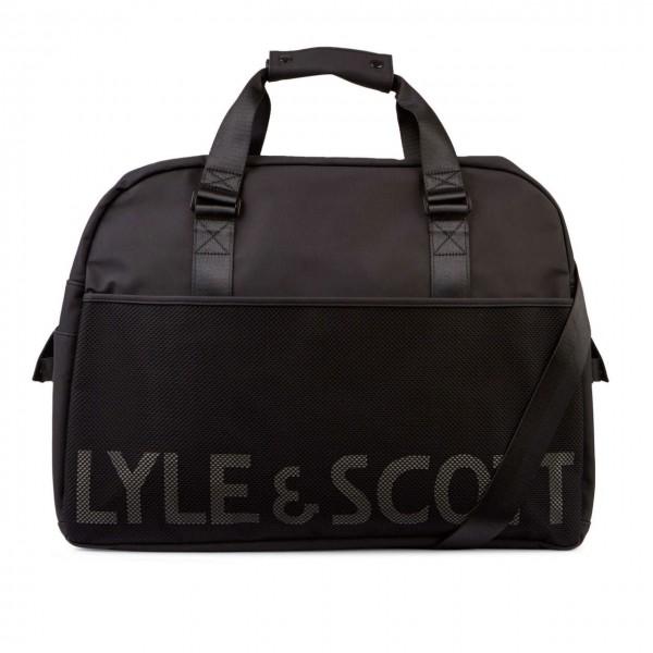 Lyle & Scott | Weekender Bag Nero | LS_BA911A