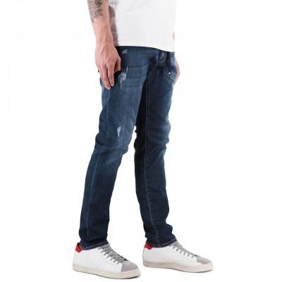 Dirty Paint   Rolling Jeans Blu   DRP_19SSDYPPAN37_LAV21181