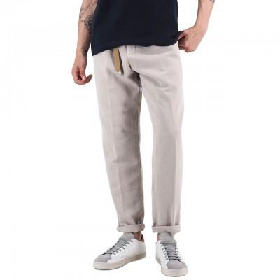White Sand   Pantalone Lungo Beige   WS_19SU66 09_20