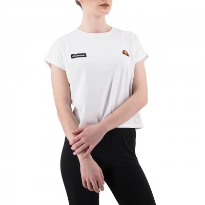 Ellesse | T-Shirt Crop Bianco | ELLESSE_892501_100