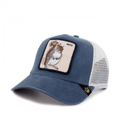 Goorin Bros. | Cappello Da Baseball Nutty Grigio | GOB_101-6383-BLU