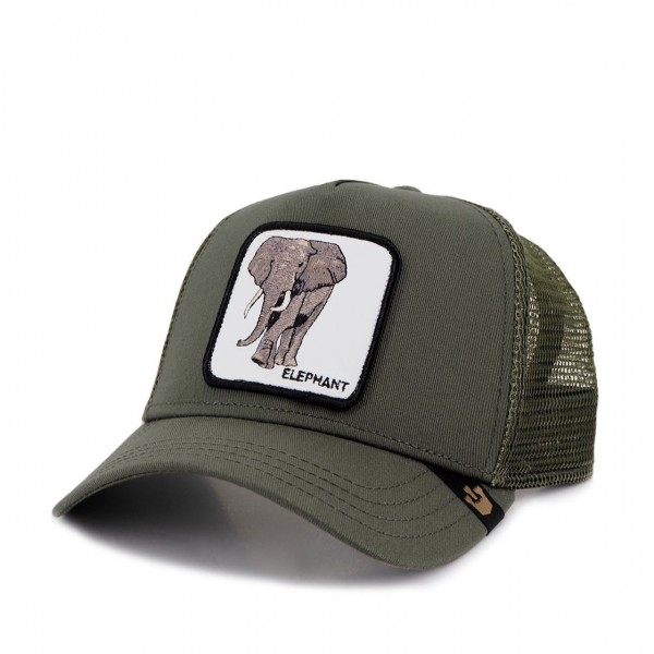 Goorin Bros. | Elephant Baseball Hat Green | GOB_101-0334-OLI