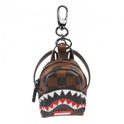 Sprayground | Keychain Sharks In Paris Brown | SPR_910K1816SS19
