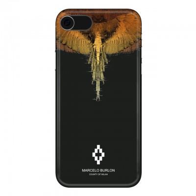 Marcelo Burlon   Glitch Cover iPhone 8 7 6 6s Nero   MBU_M8-GLITCH
