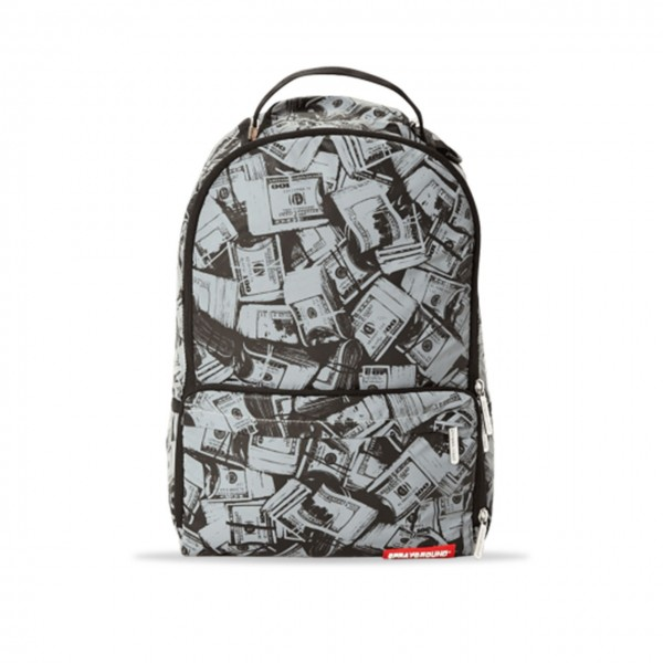 Sprayground | 3M Money Sneaker Cargo Backpack Argento | SPR_910B2050NSZ