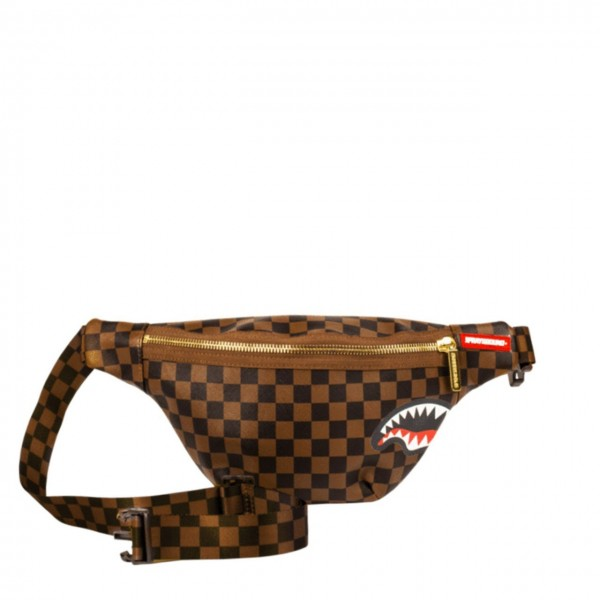 Sprayground | Sharks In Paris Crossbody Marrone | SPR_910B1664SS19