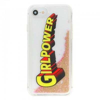 Benjamins | Cover Liquid GirlPower Per iPhone 8 7 6 6S Rosa | BEN_BJ8-LIQPOWER